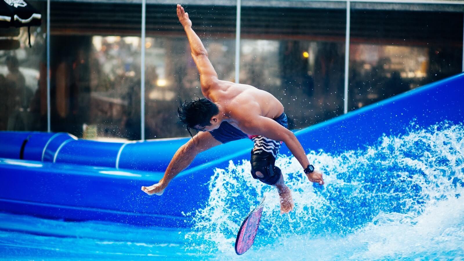 Surfing Surf House Helsinki