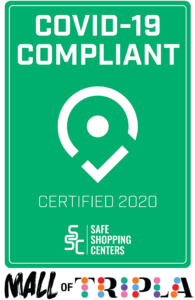 Safe Shopping Centers Certificate